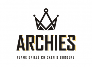 ARCHIE FLAME GRILLE LOGO