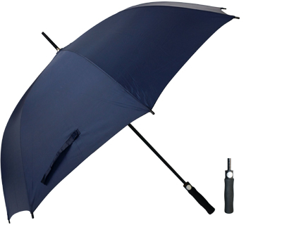 T20 Navy Umbrella / Push Button Handle