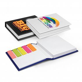 100926 Hard Cover Notebook with Flags