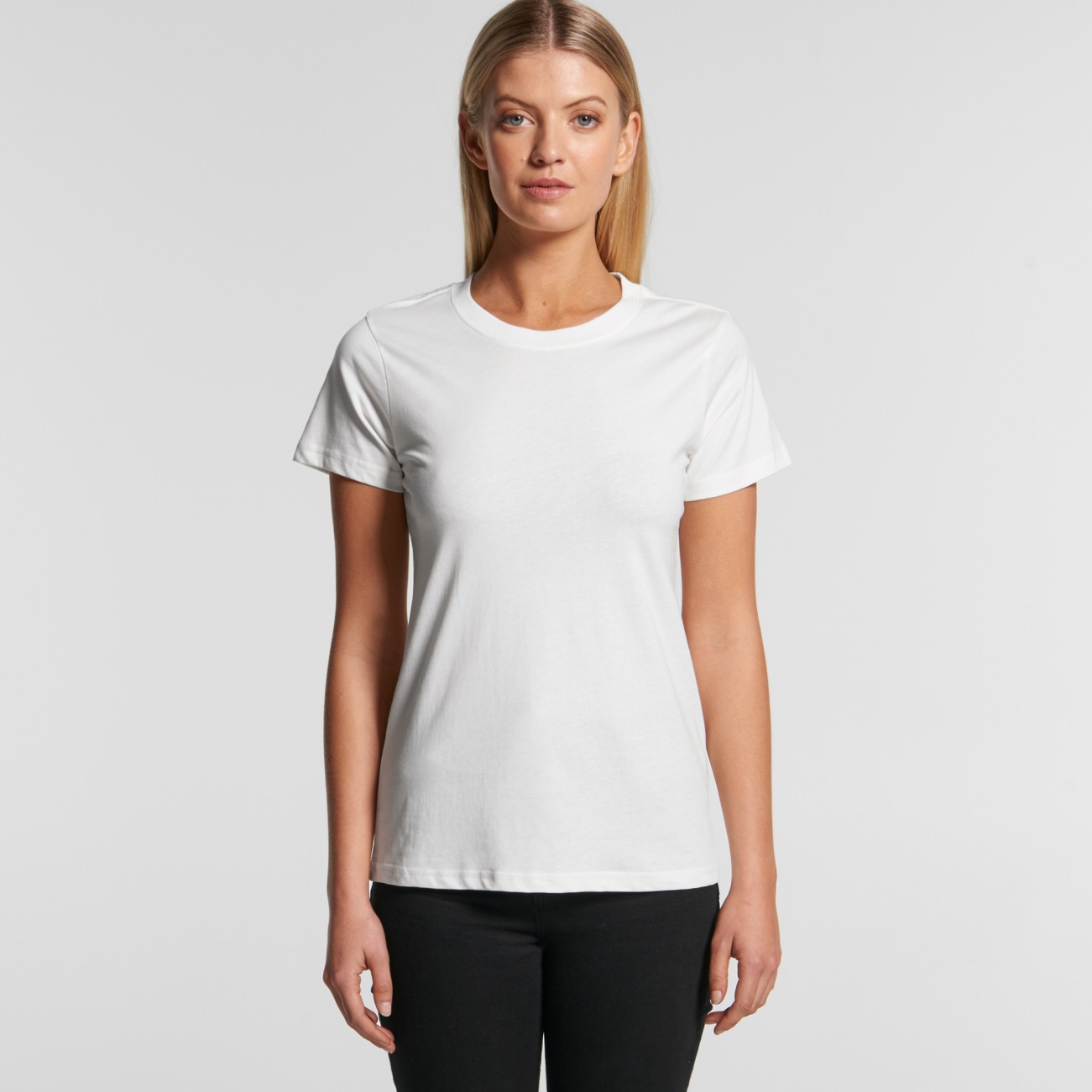 4001G WOMENS MAPLE ORGANIC TEE