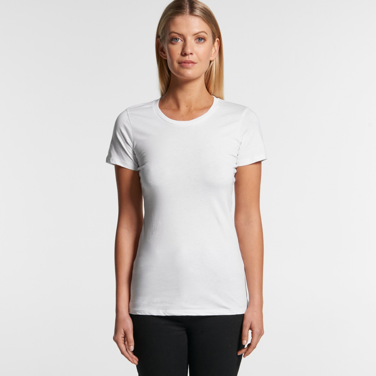 4002 WOMENS WAFER TEE