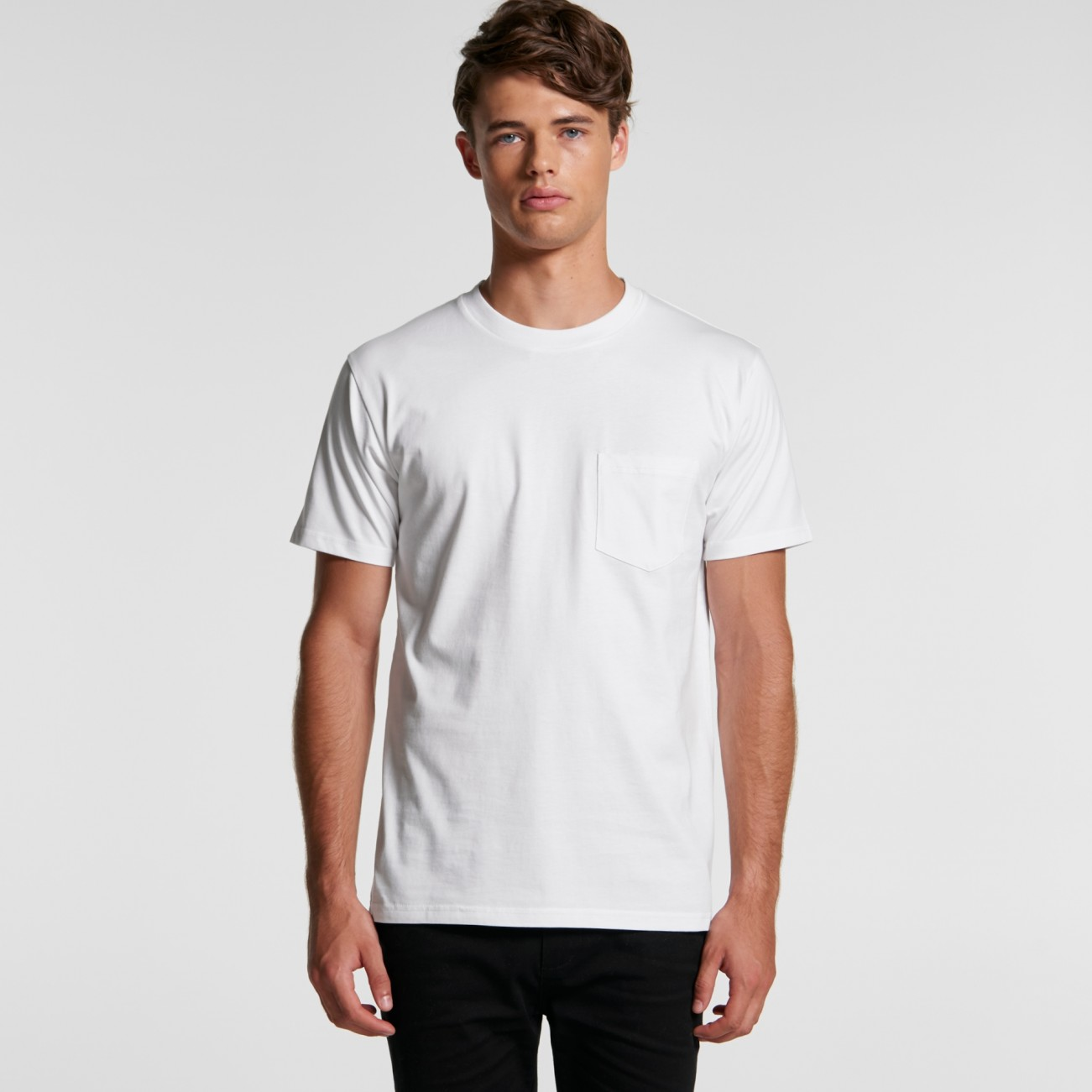 5027 MENS CLASSIC POCKET TEE