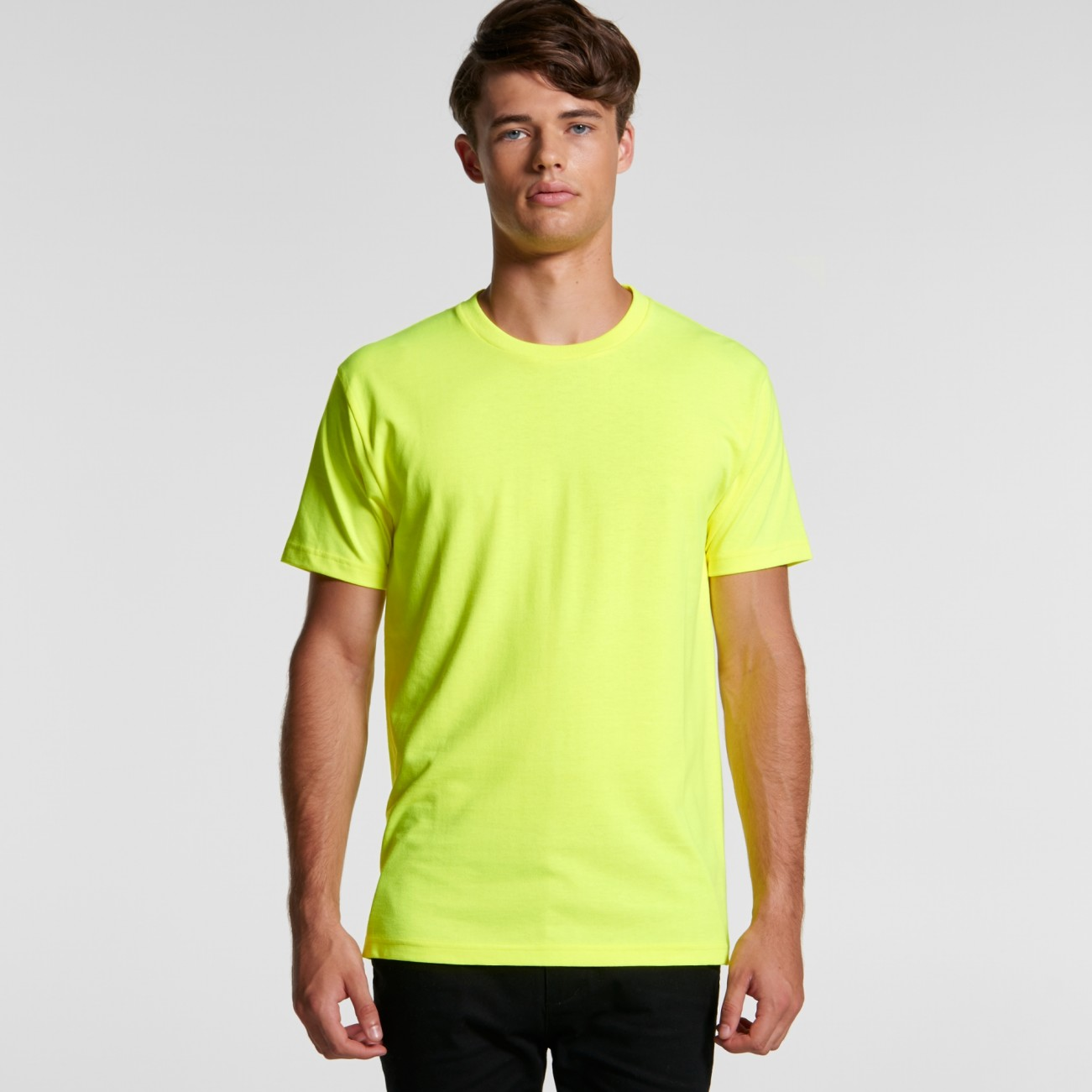 5050F MENS BLOCK TEE (SAFETY COLOURS)
