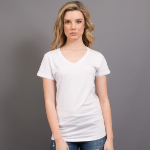 9906 Ladies Nauticus V-Neck Tee