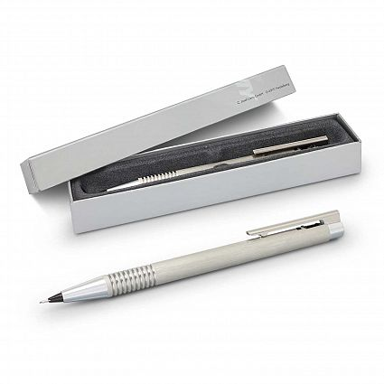 113796 Lamy Logo Pencil - Brushed Steel