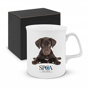 106507 Chroma Bone China Coffee Mug