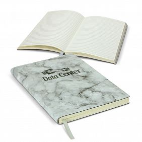 114374 Marble Soft Cover Notebook