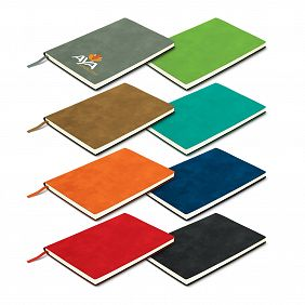 114383 Genoa Soft Cover Notebook